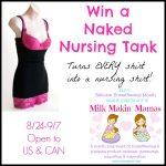 Naked Nursing Tank #Giveaway #MilkMakinMamas