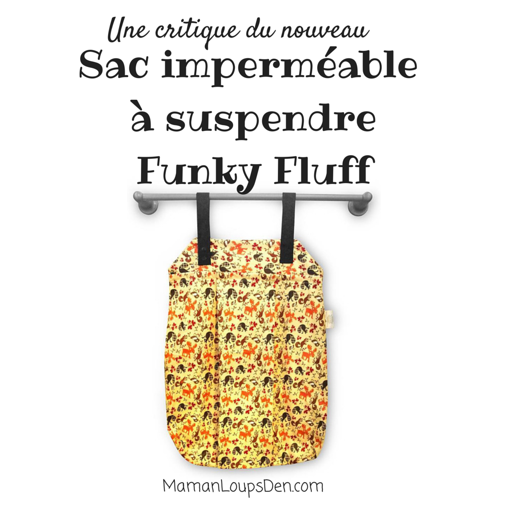 Funky Fluff Hanging Wet Bag Review (fr)
