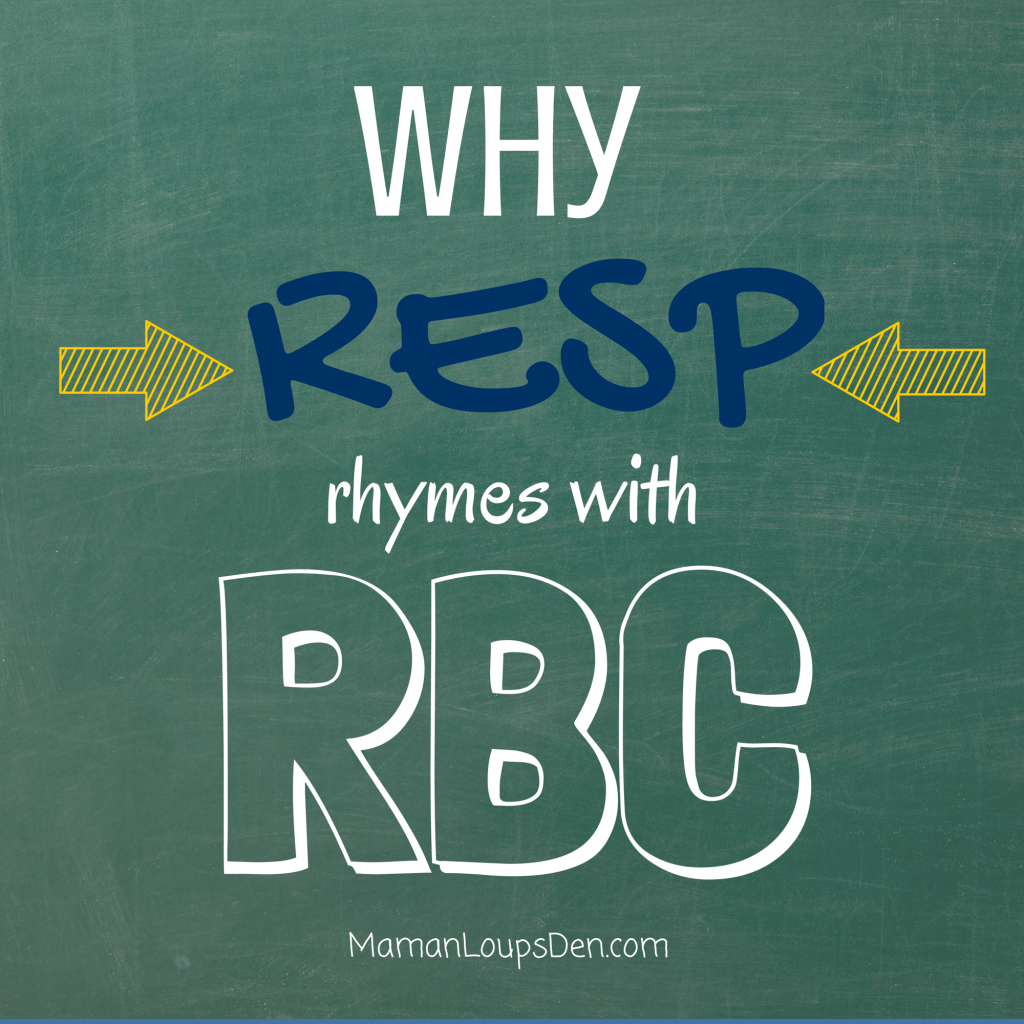 Why RESP Rhymes with RBC #RESPwithRBC