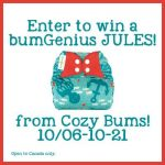 Win a BumGenius 4.0 Jules from Cozy Bums! Canada Only!