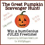 The Great Pumpkin Scavenger Hunt: Win a bumGenius Jules Diaper!