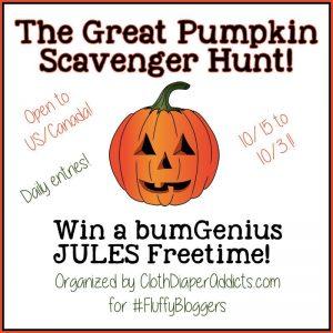Great Pumpkin Scavenger Hunt