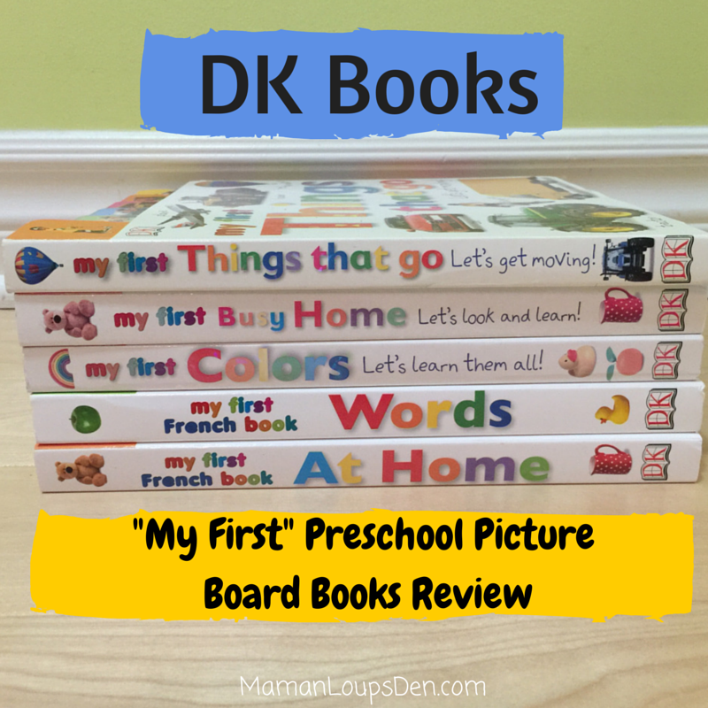 DK Books Preschool Board Books Review
