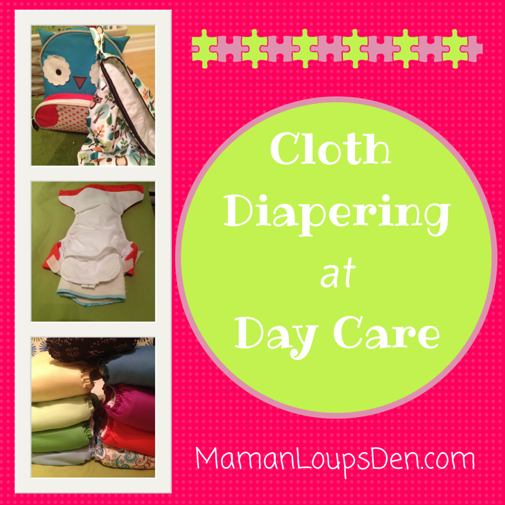 Cloth Diapering at Day Care