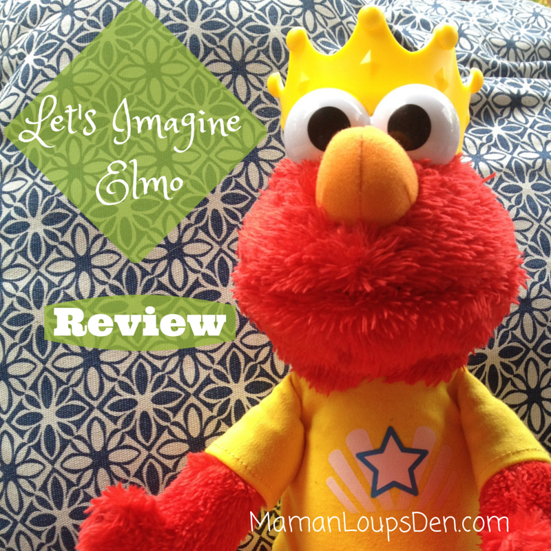 Let's Imagine Elmo Toy Review