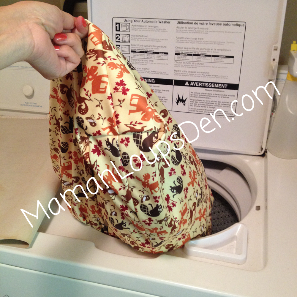 Funky Fluff Hanging Diaper Pail Review
