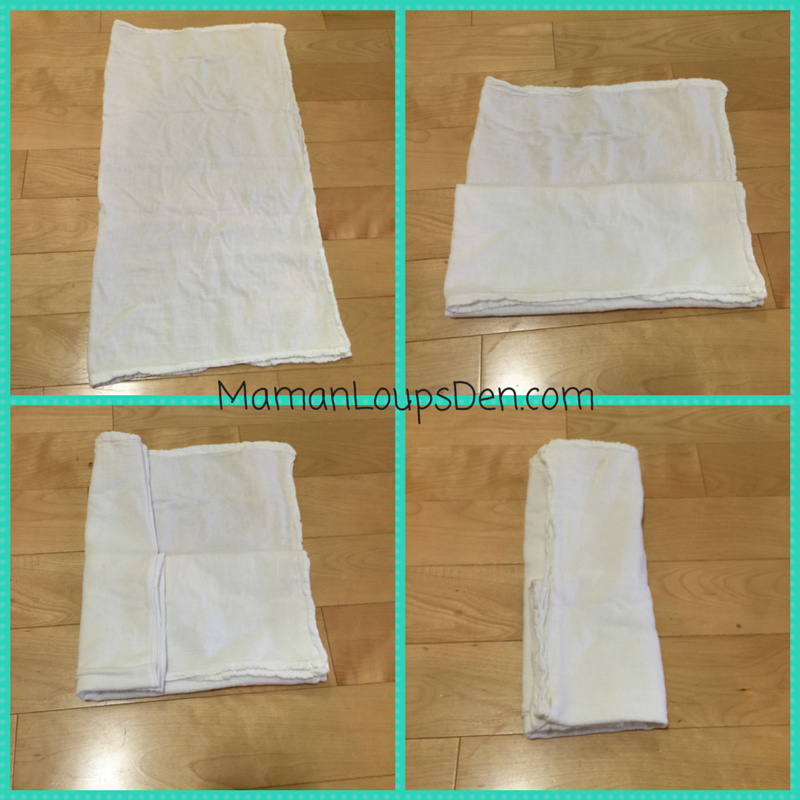 Flour Sack Towels (FSTs) as Cloth Diaper Inserts - Cloth Diaper Parenting Hacks