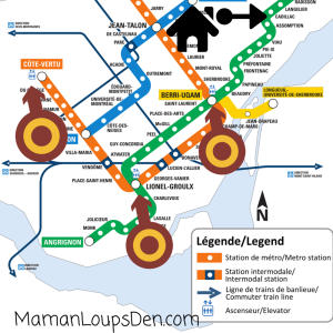 Accessibility of Montreal's Metro