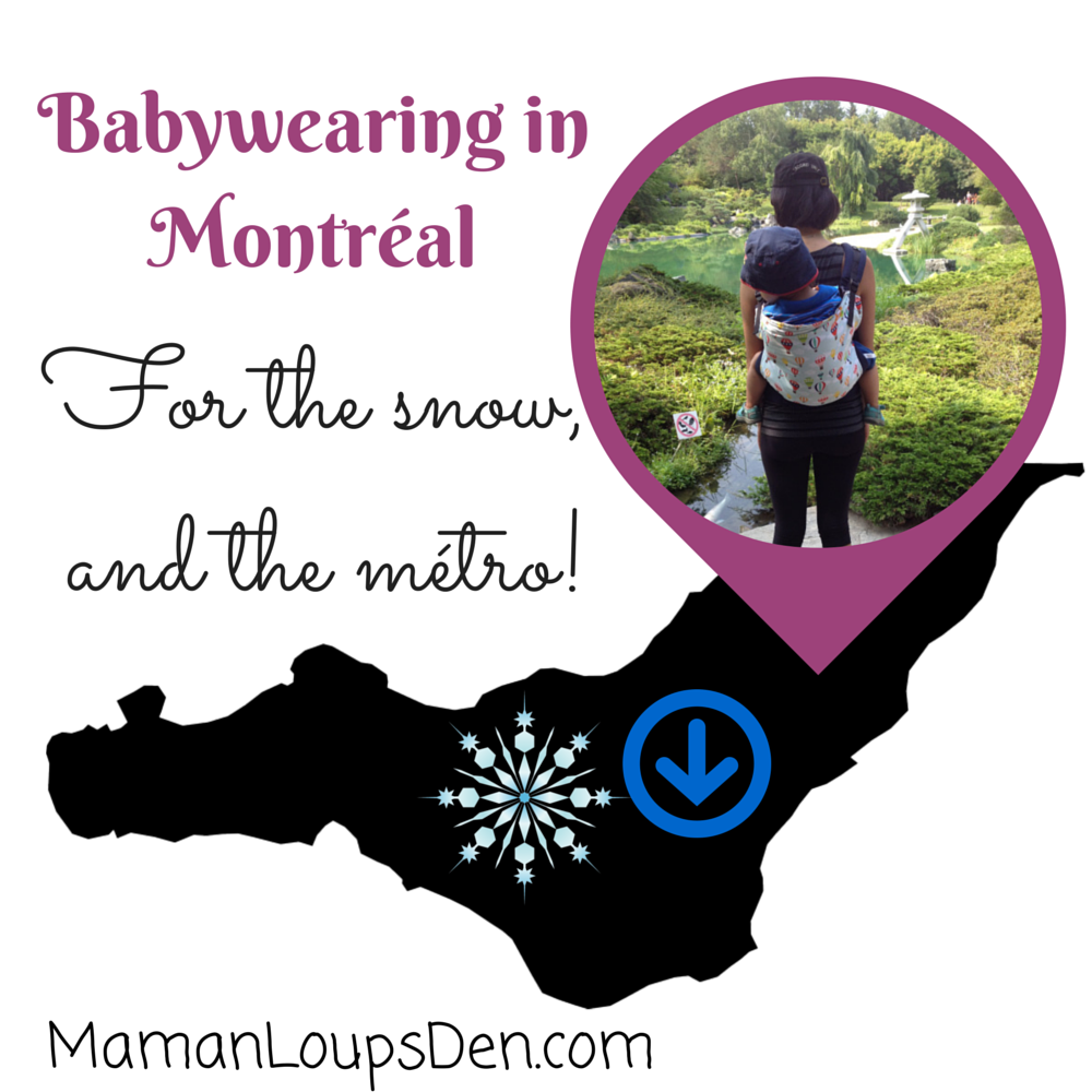 Babywearing In Montreal (1)