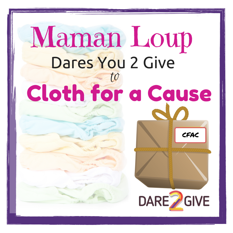 Dare2Give Maman Loup Dares You