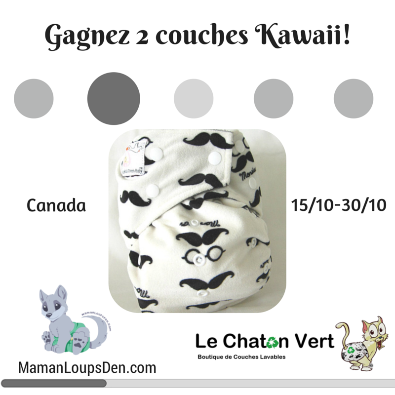 Gagnez 2 couches Kawaii! (1)
