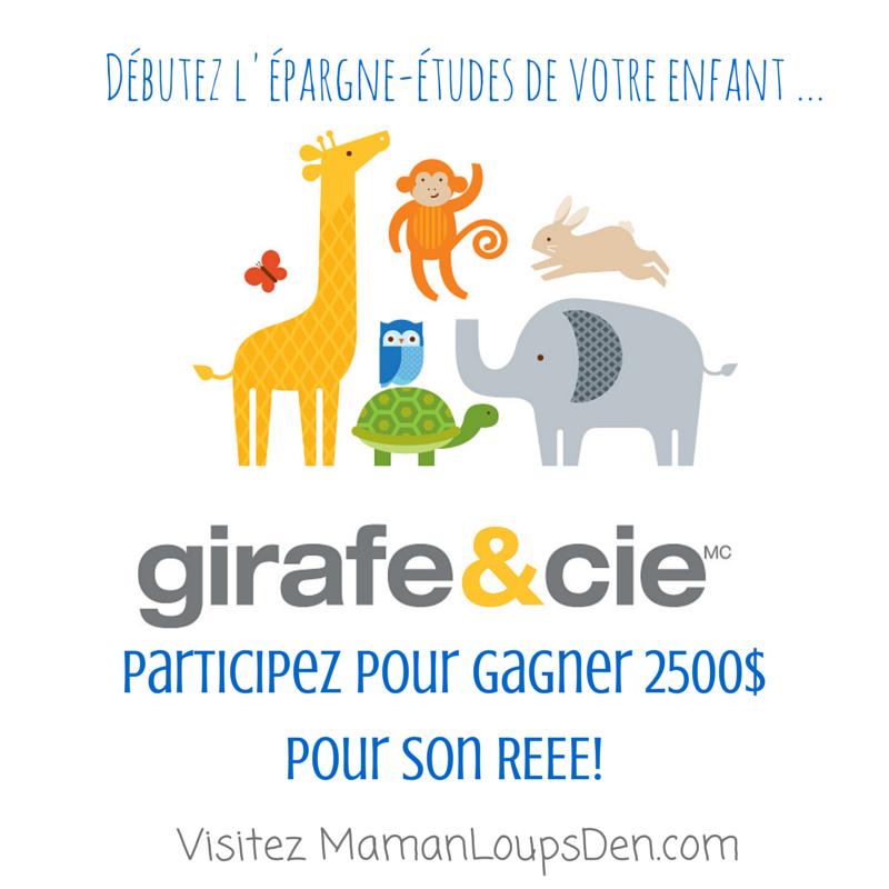 Girafe & Cie concours