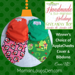 #EcoFriendlyHolidays & #HandmadeHolidays: AppleCheeks Exclusive Giveaway!