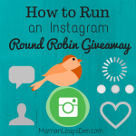 How to Run an Instagram Round Robin Giveaway