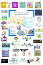 Get ready for hashtags: #TryAllTheDiapers #FluffyBloggers #Giveaway