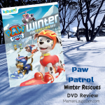 Paw Patrol Winter Rescues DVD Review & #Giveaway