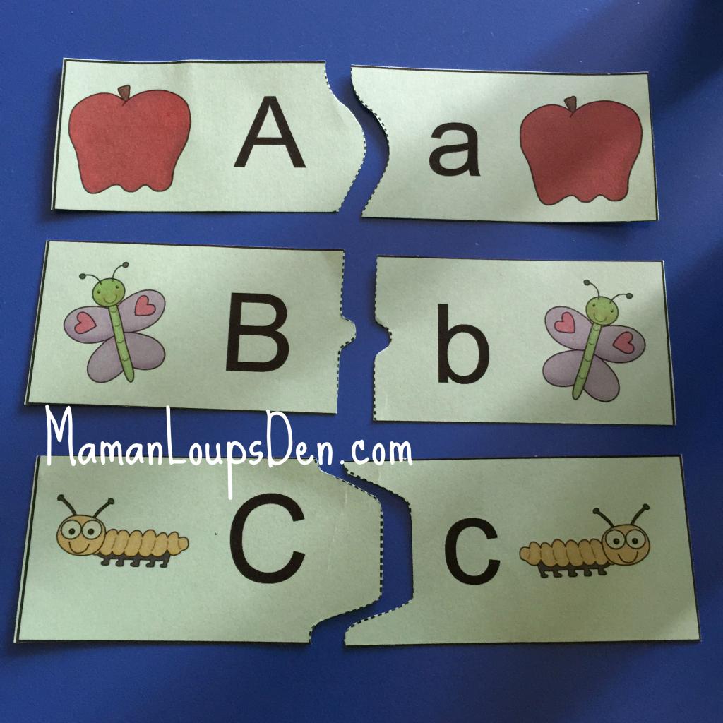 ABC Printable Puzzle