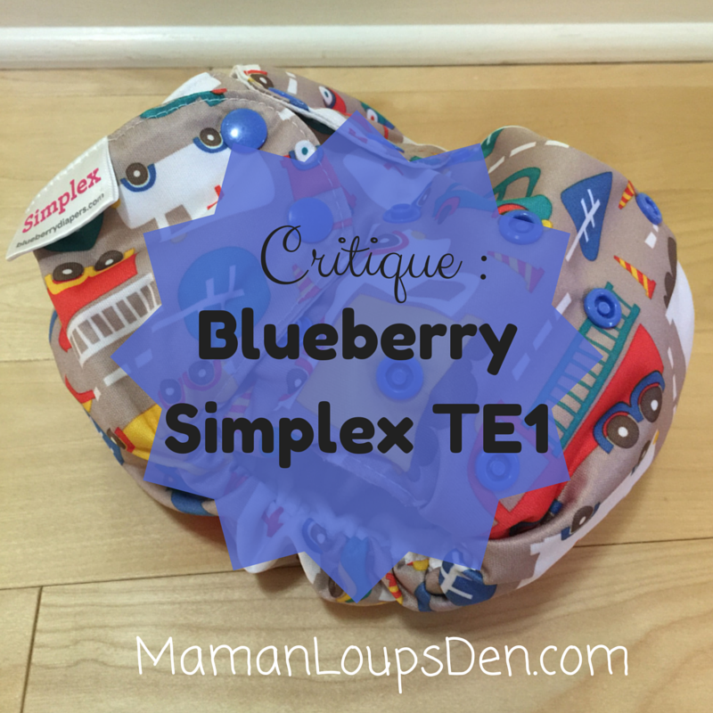 Critique de la Blueberry Simplex TE1: Tout simple, tout flexible.