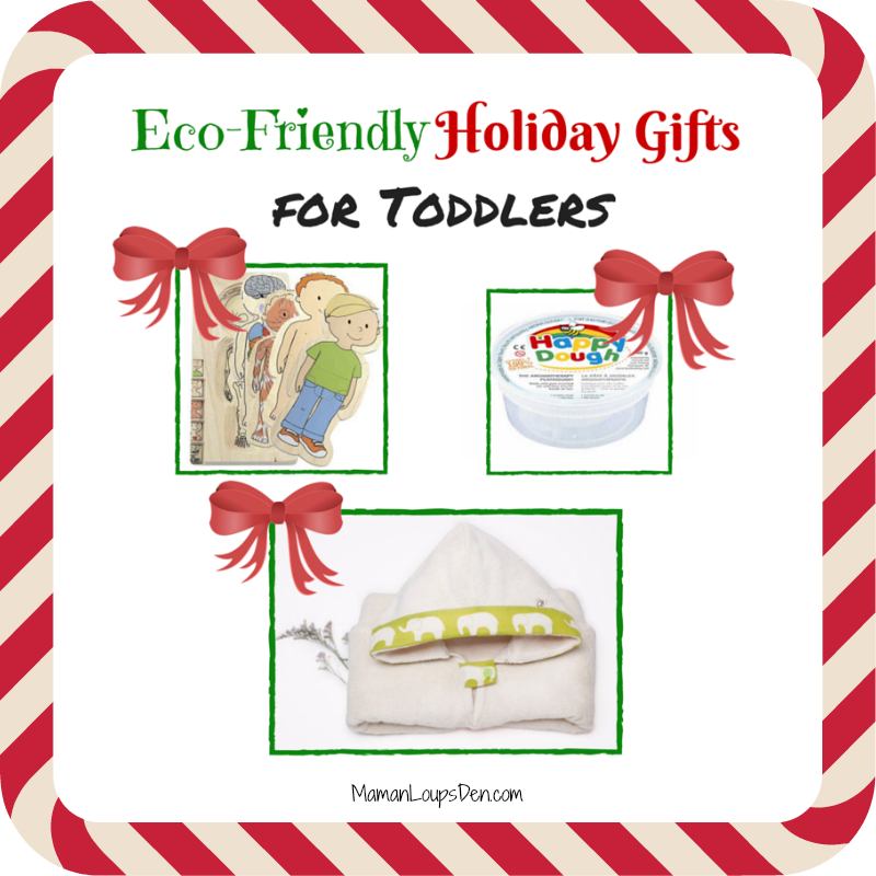 Eco-Friendly Holiday Gifts for Toddlers