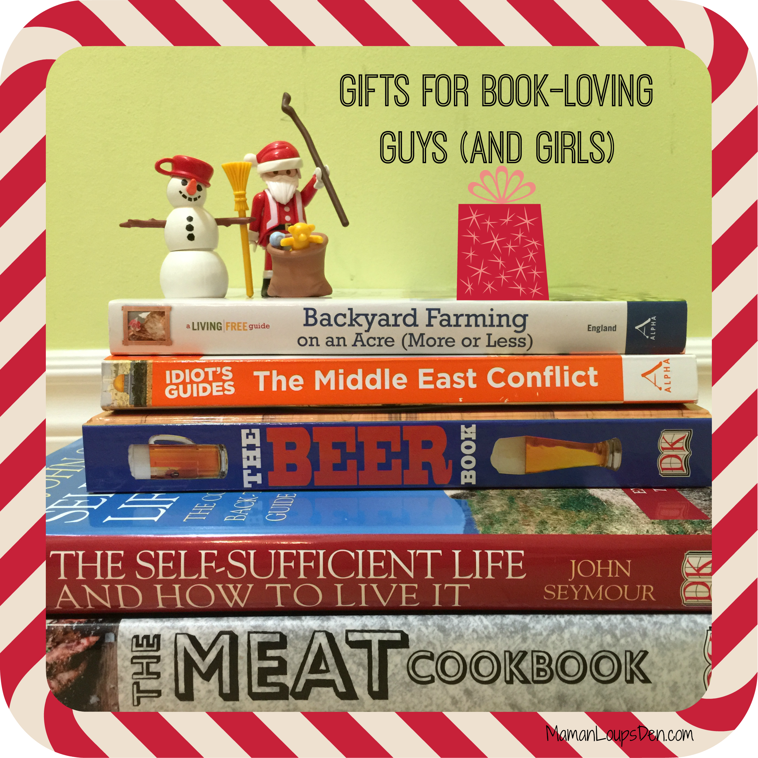 five books that make great gifts for guys