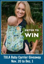 Tula Baby Carrier #Giveaway