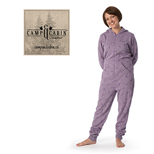 Camp & Cabin One-Piece PJs for Moms!