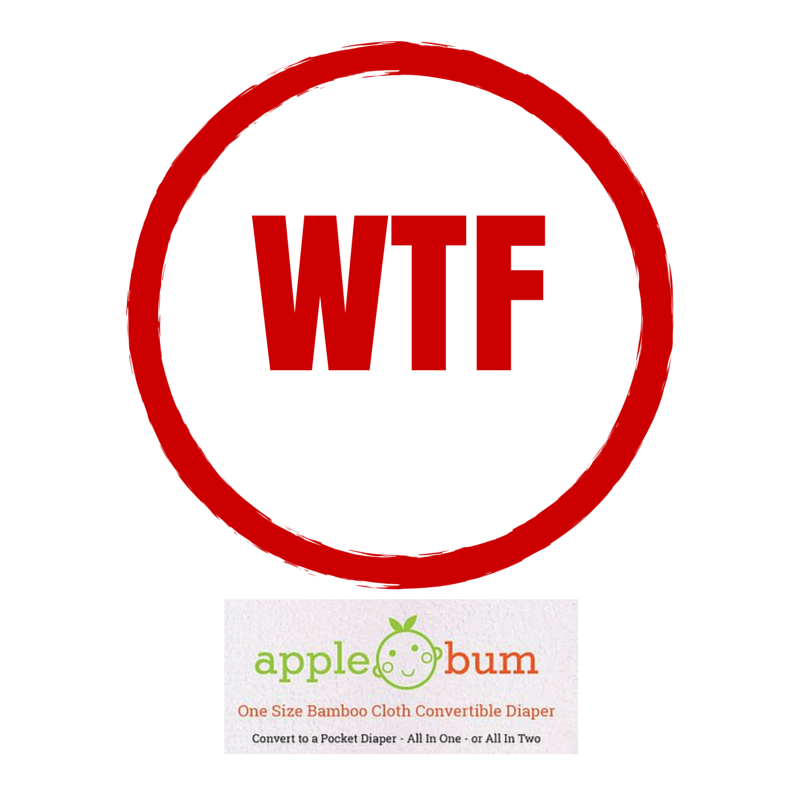 Apple Bum Diapers: What the fluff?!