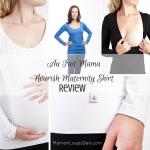 Au Fait Mama Longsleeve Nourish Maternity Shirt Review