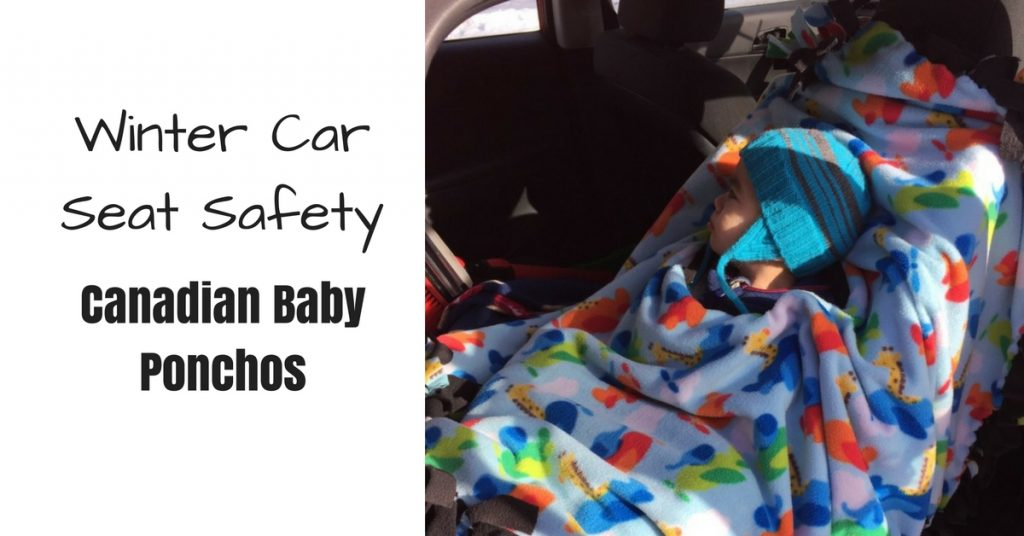 Canadian Baby Ponchos Car Seat Poncho Review {updated}