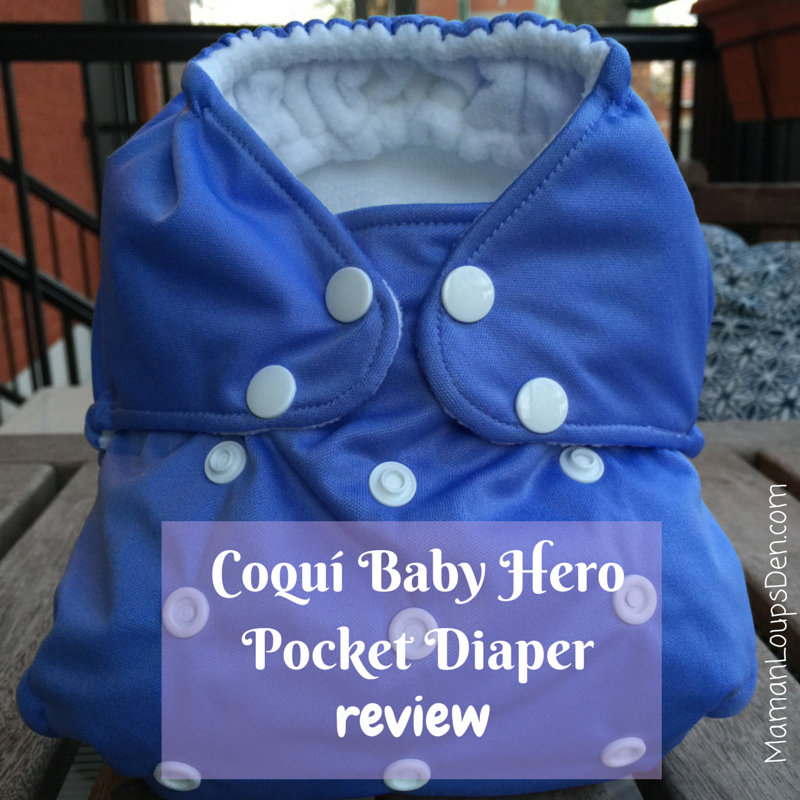 Coquí Baby Hero Pocket Diaper Review