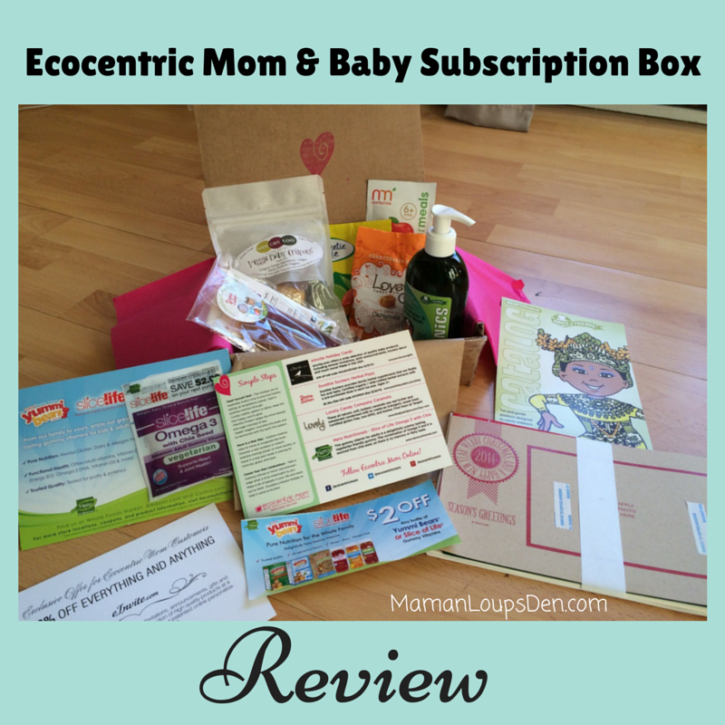 Ecocentric Mom  & Baby Subscription Box