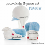 goumikids 3-piece set Review: A hat, mittens and booties that stay put!