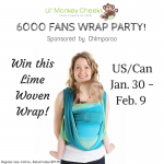 Lil' Monkey Cheeks 6000 Fans Chimparoo Wrap Party #Giveaway