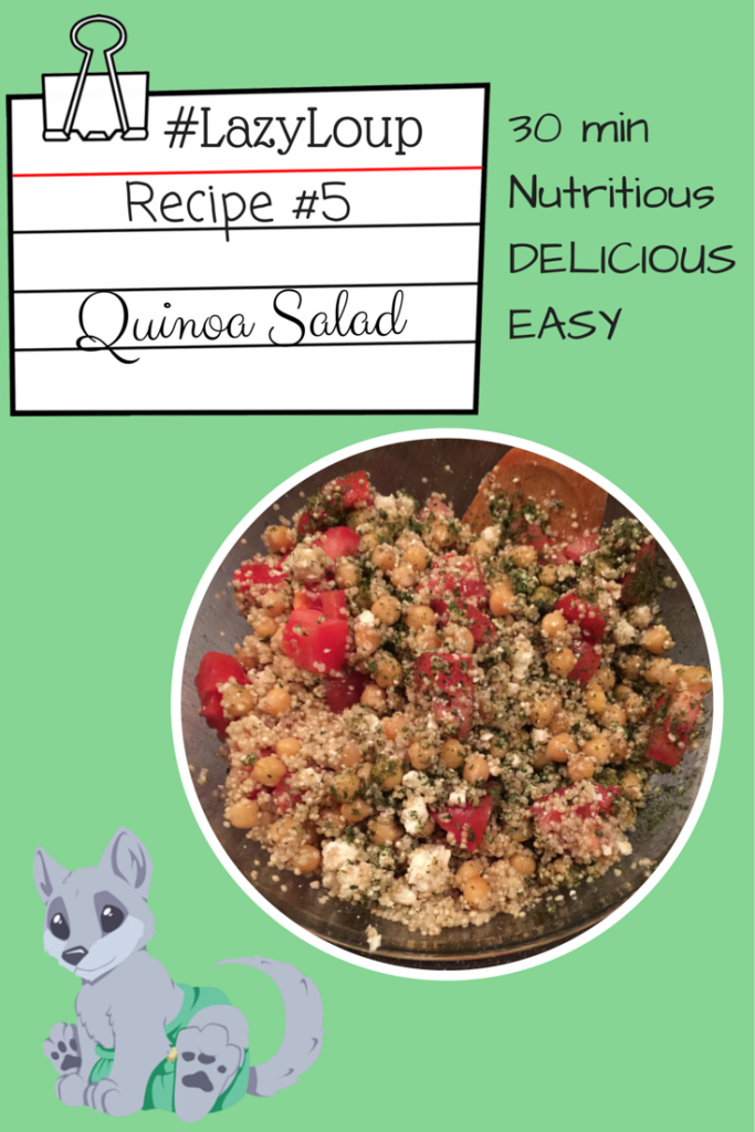 Quinoa Salad Recipe: #LazyLoup Recipe #5