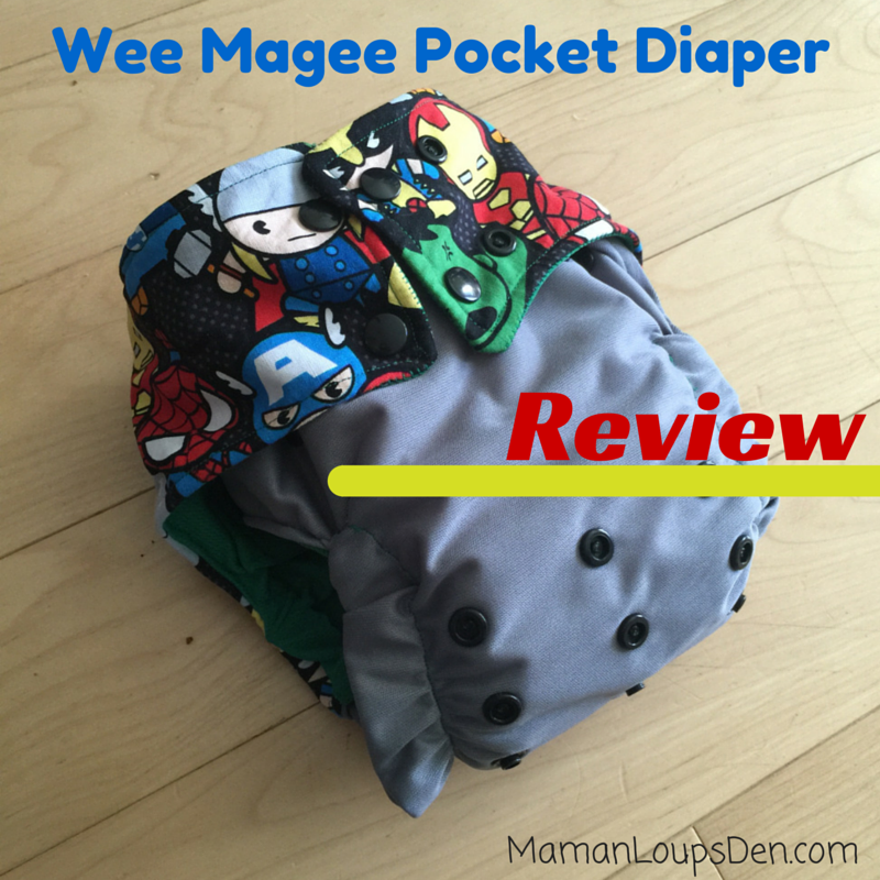 Wee Magee Pocket Diaper Review