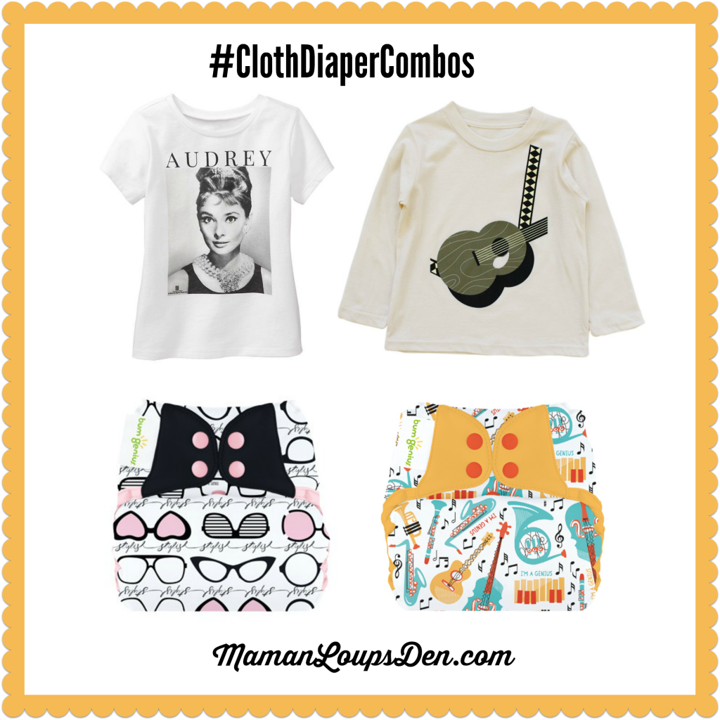 #ClothDiaperCombos: BumGenius Audrey & Louis