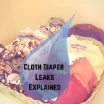 Cloth Diaper Leaks Explained