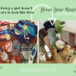 Green Your Teen's Routine
