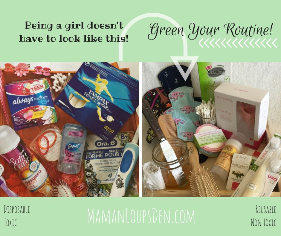 Greenify Your Teen's Routine, And Yours!