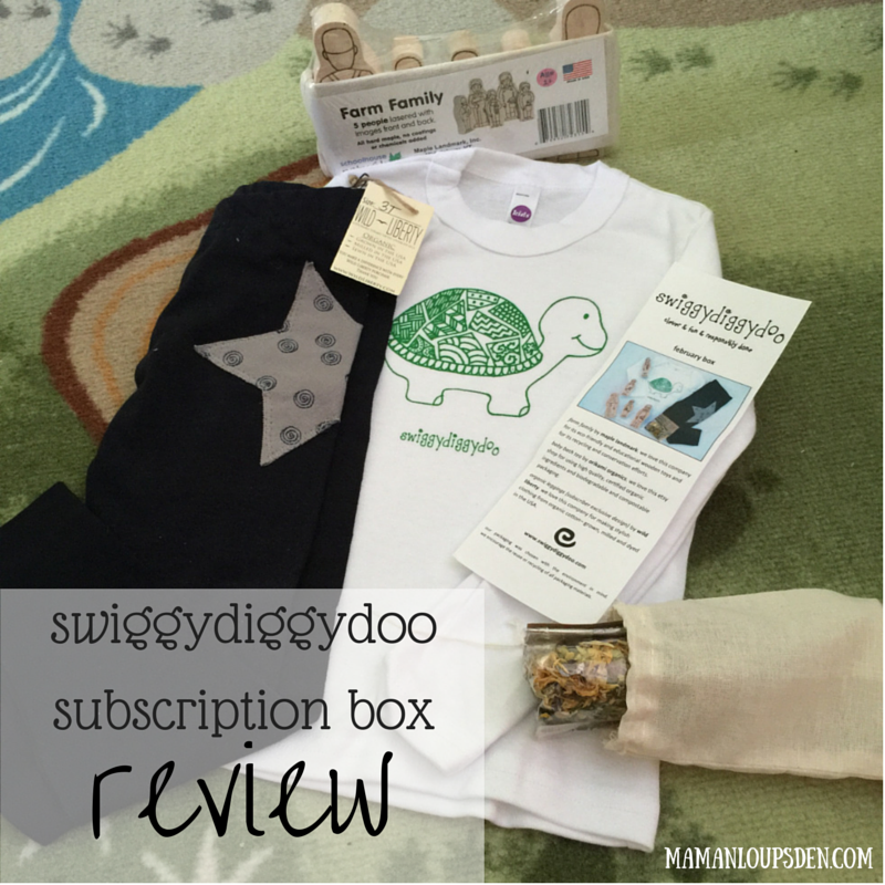 swiggydiggydoo subscription box review