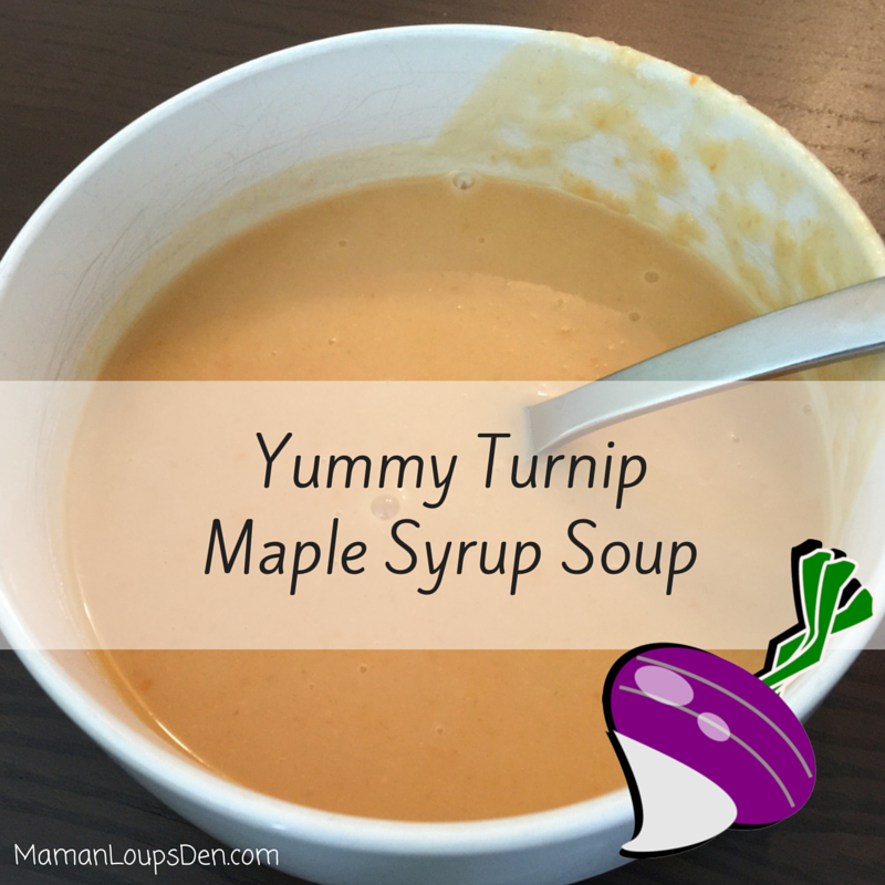 Yummy Turnip Maple Syrup Soup Recipe