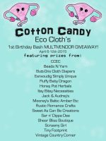Cotton Candy Eco Cloth's 1st Birthday Bash Giveaway