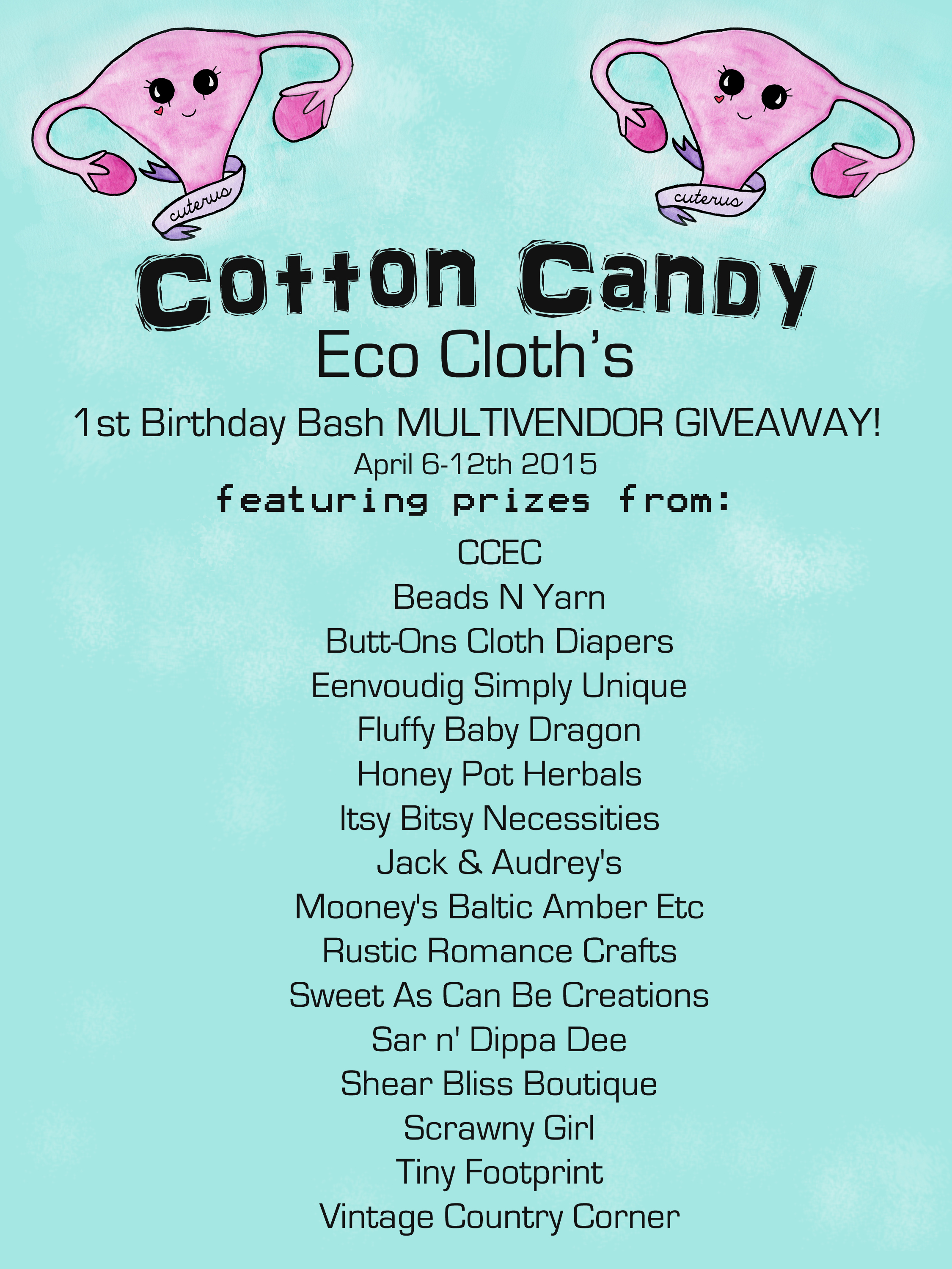 CCEC's 1st Birthday Bash Giveaway