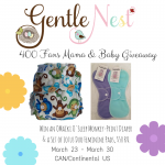 Gentle Nest 400 Fans Mama & Baby Giveaway