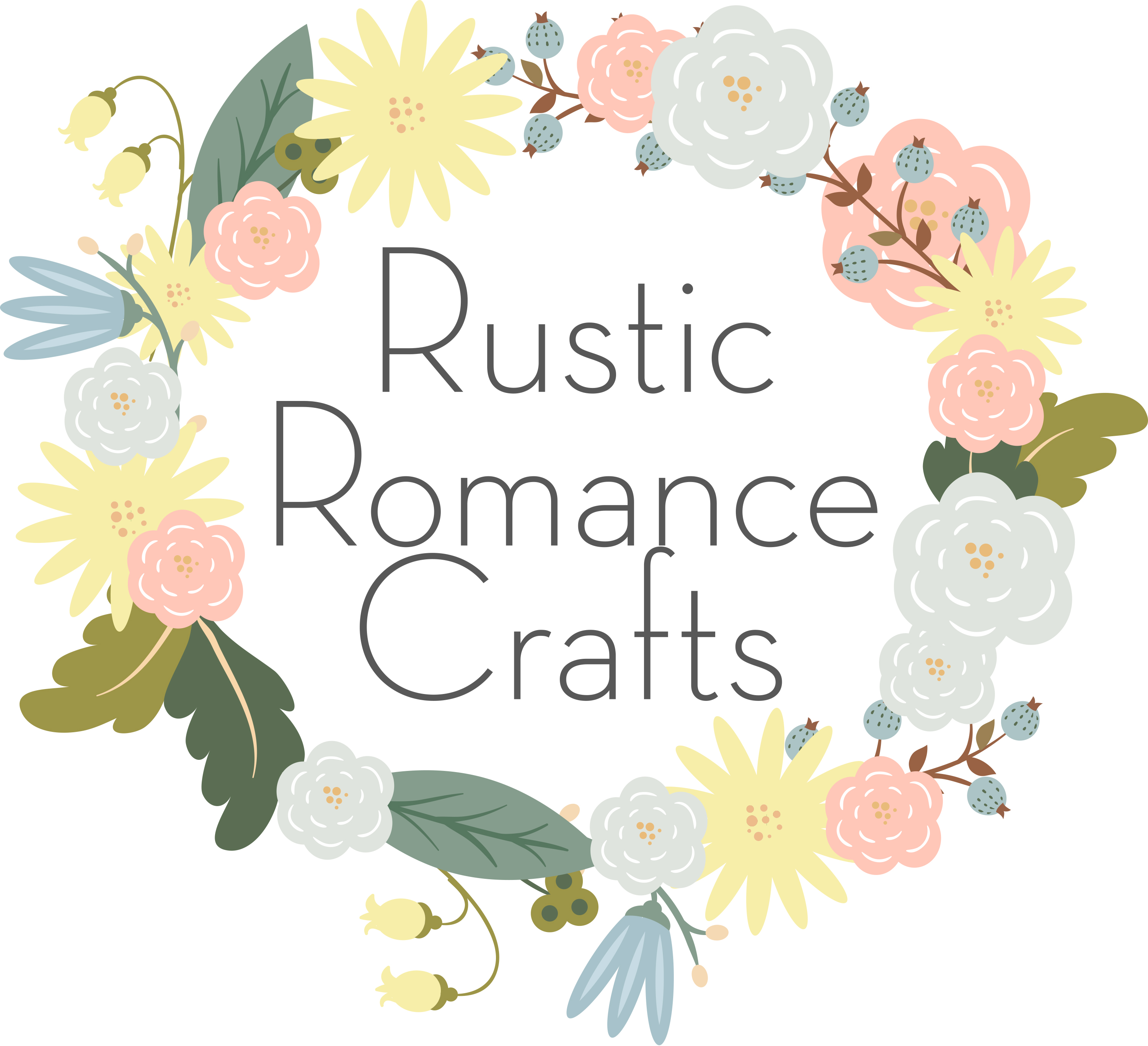 rustic romance crafts (1)