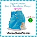 AppleCheeks Size 3 Envelope Cover Review