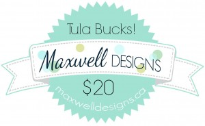 $20 in Maxwell Tula Bucks
