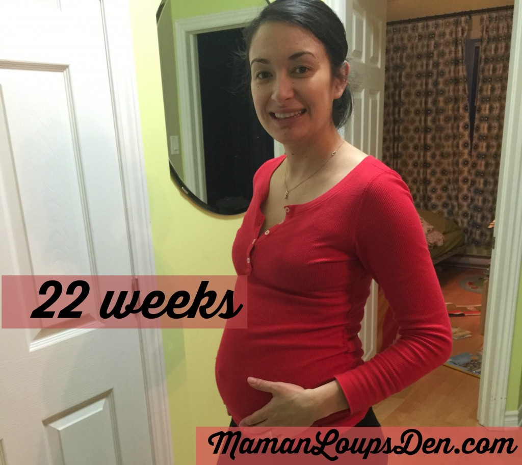 Pregnancy 2.0: Weeks 22 & 23