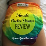 Moraki One-Size AI2/Pocket Diaper Review