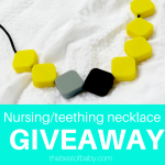 My Natural Baby Teething Necklace #Giveaway